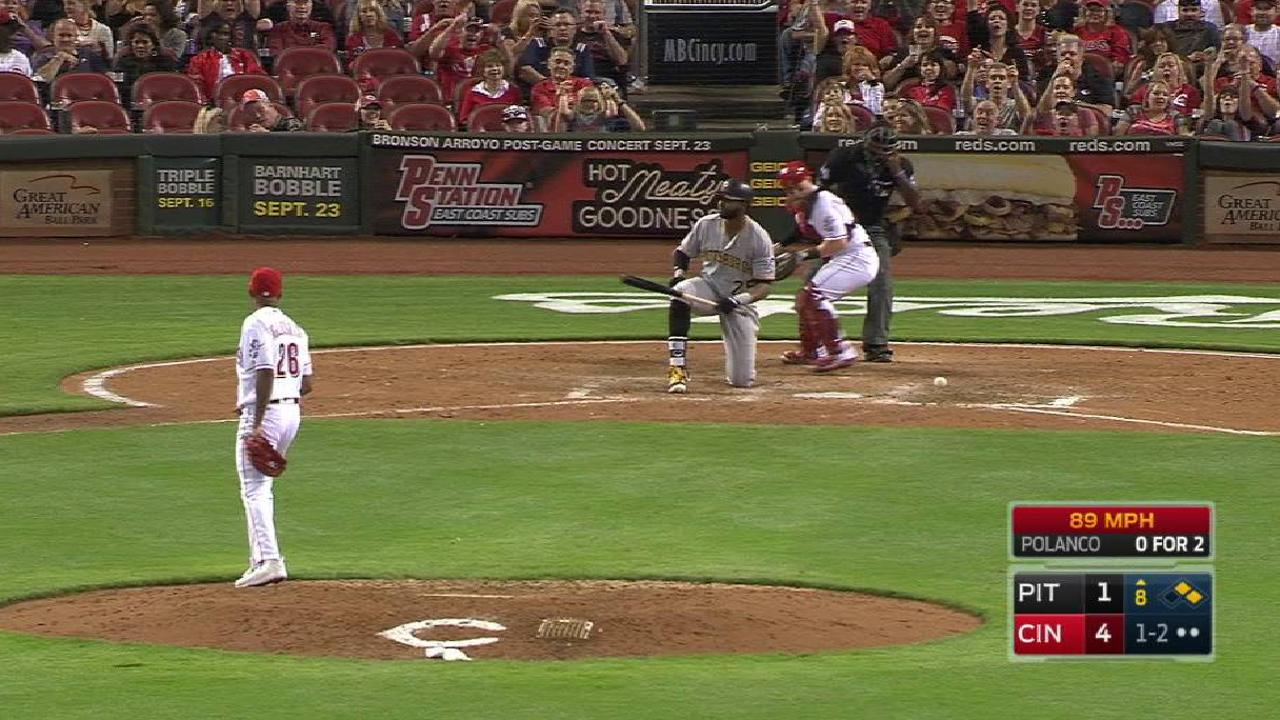 Iglesias induces key strikeout