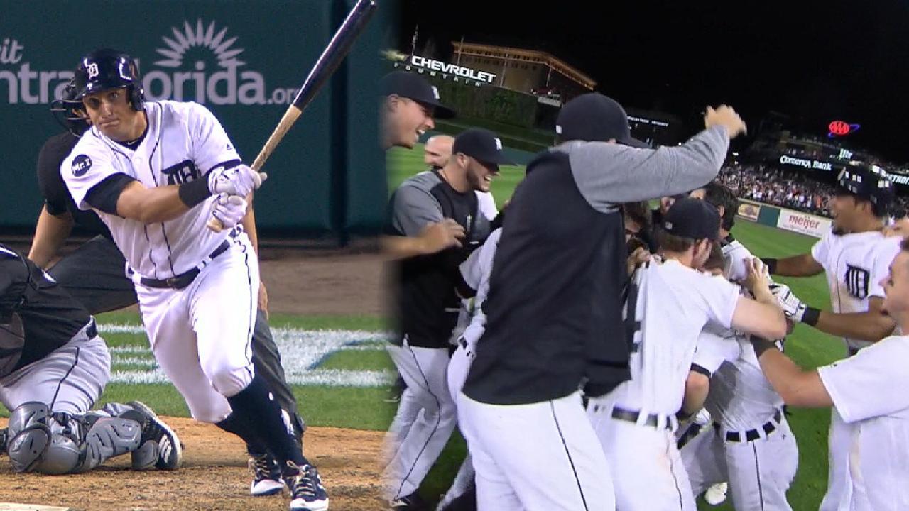 Mahtook, Sanchez help Tigers walk off on Sox