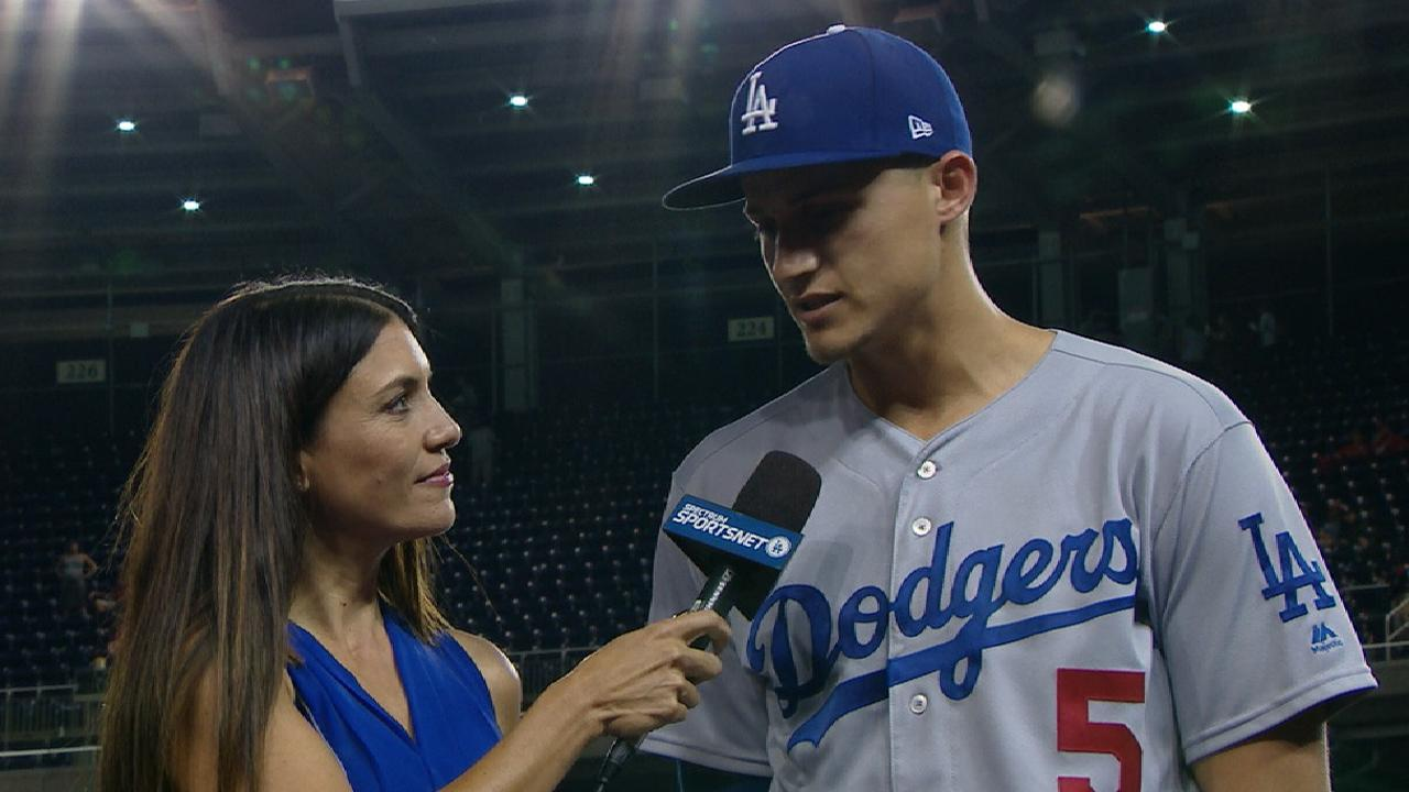 Seager on the Dodgers' offense