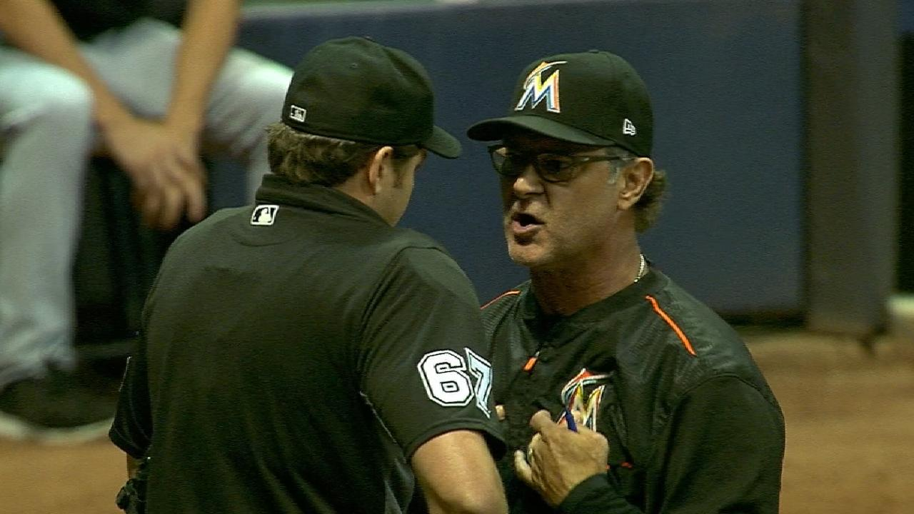 'Crossed signals' lead to Mattingly's ejection