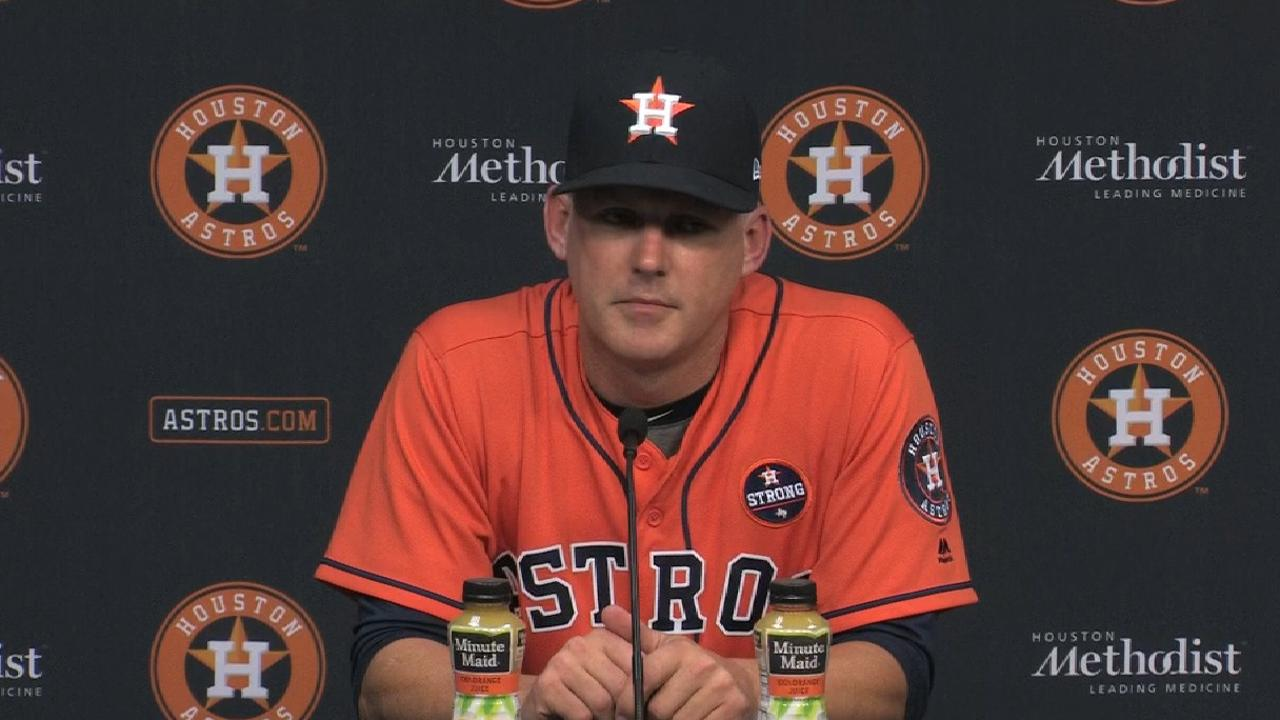 Hinch on offensive success
