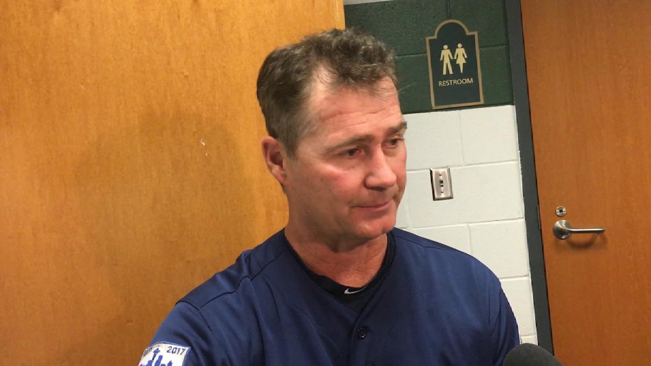 Servais plots pitching for regular season's end