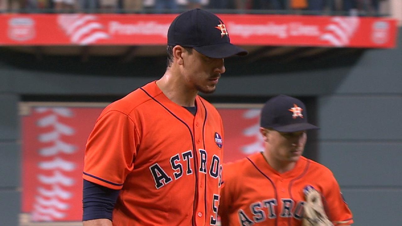 Morton rolls, Astros drop magic number to 2