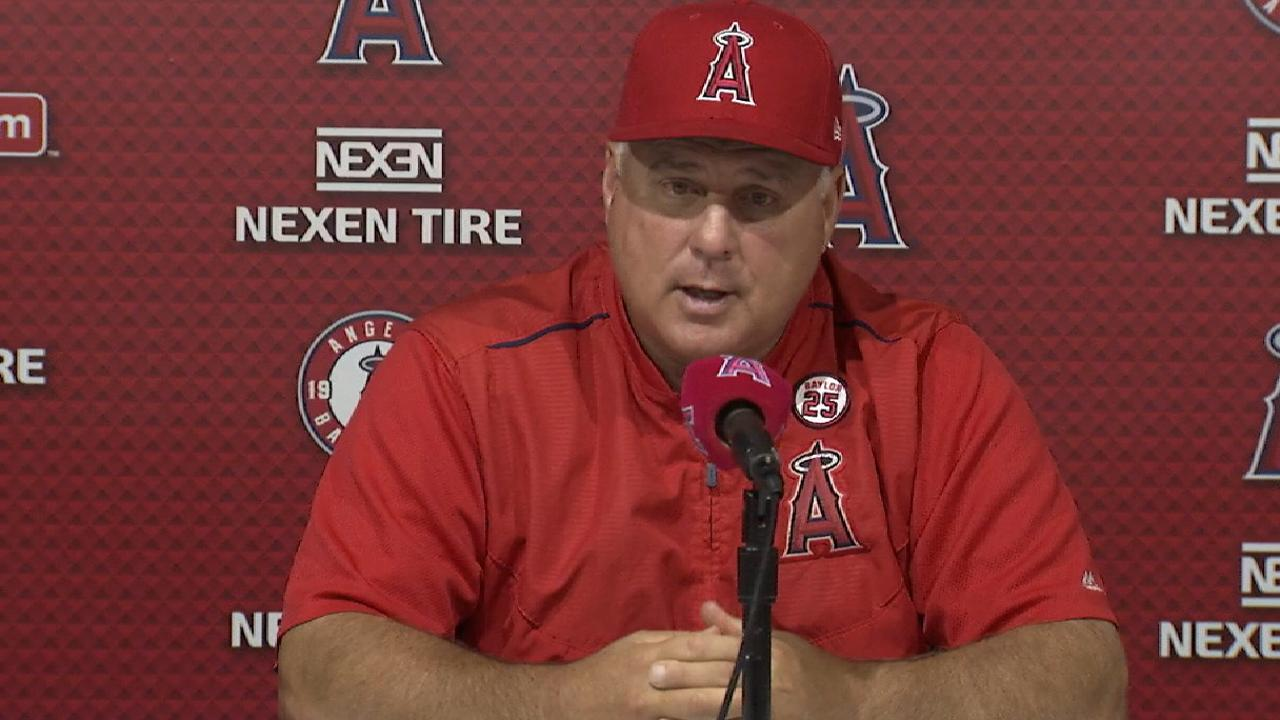 Scioscia on Parker's save