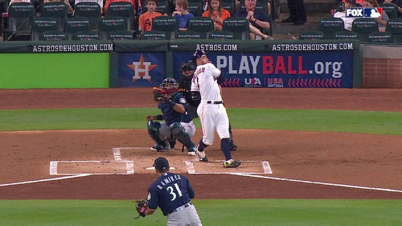Ramirez strikes out Springer