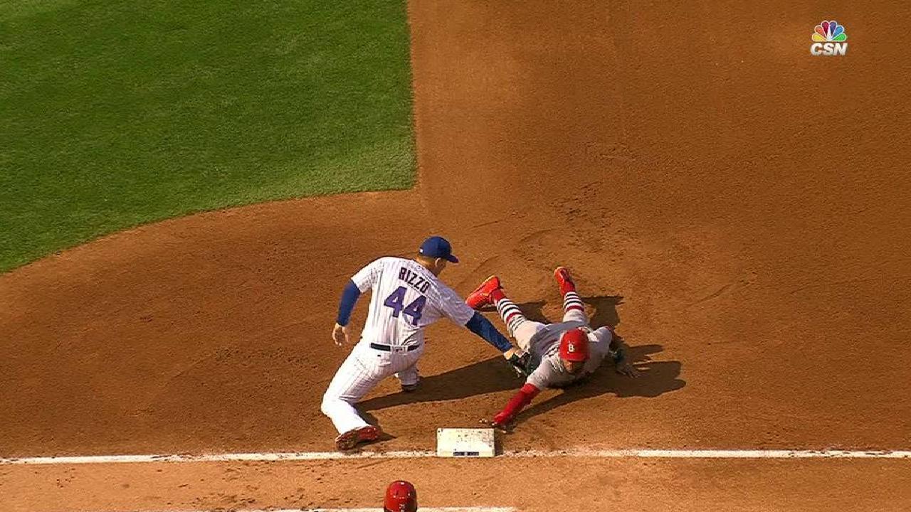 Hendricks picks off Martinez