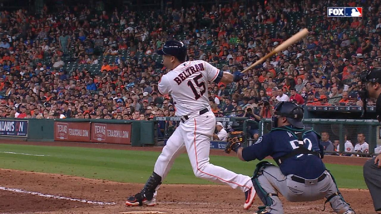 Beltran's luck changing with big game vs. M's