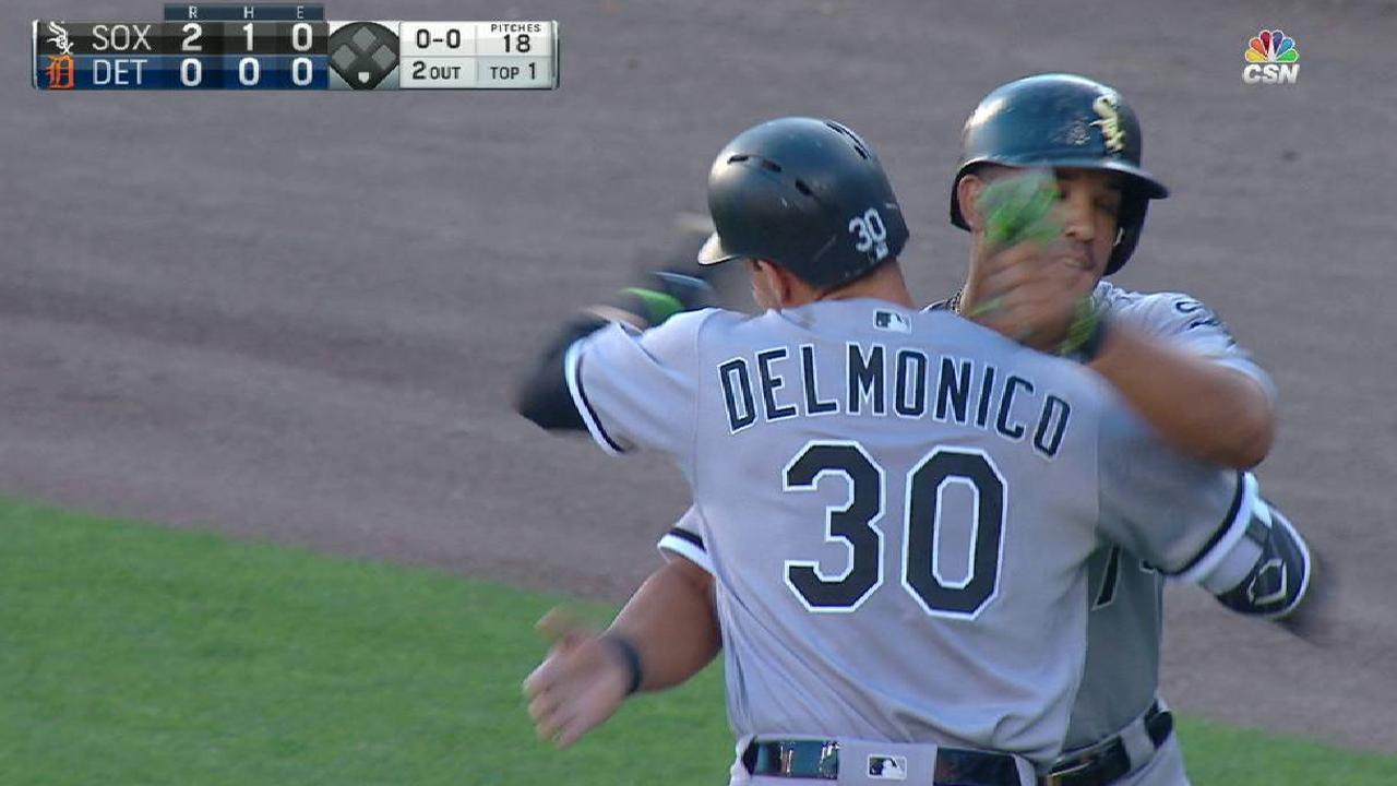 Delmonico's two-run home run