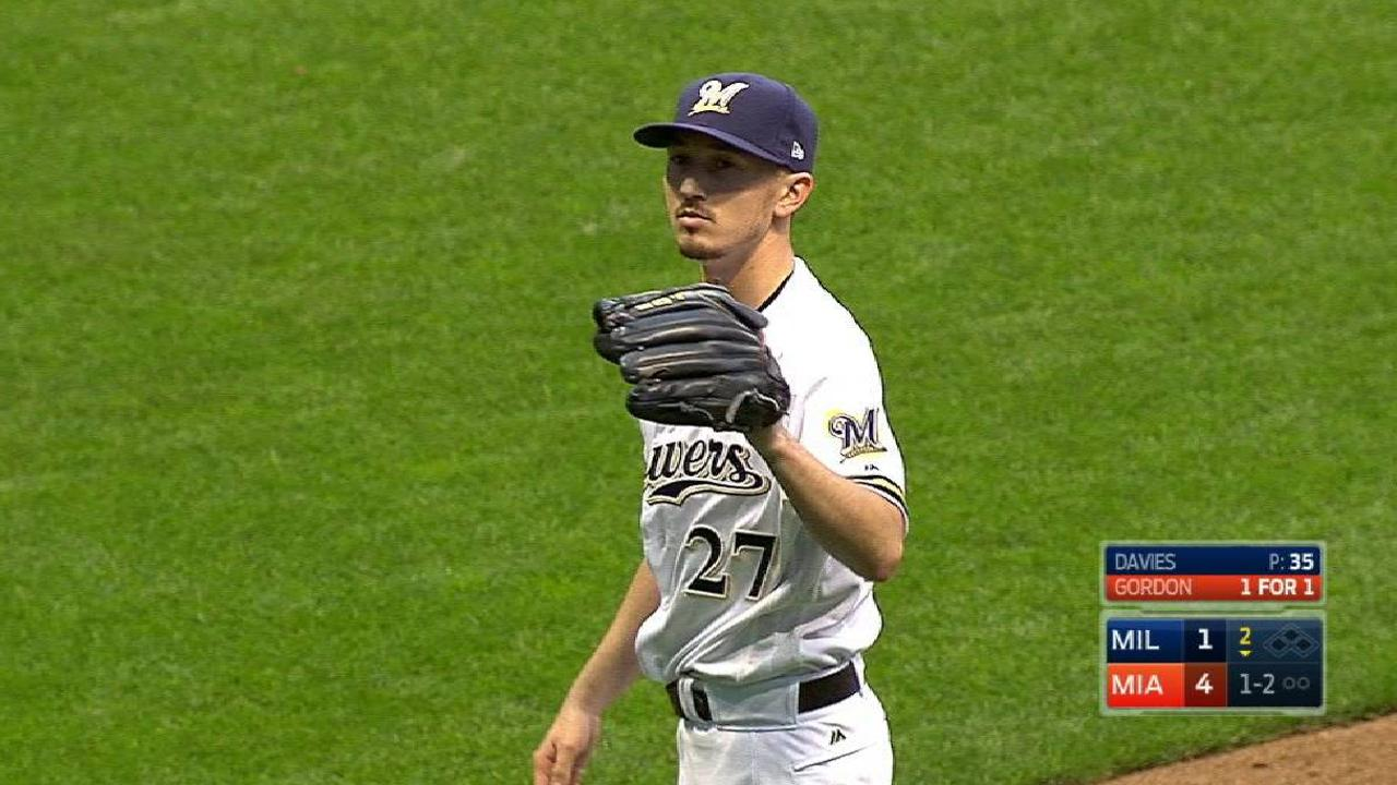 Davies' shaky start comes at inopportune time