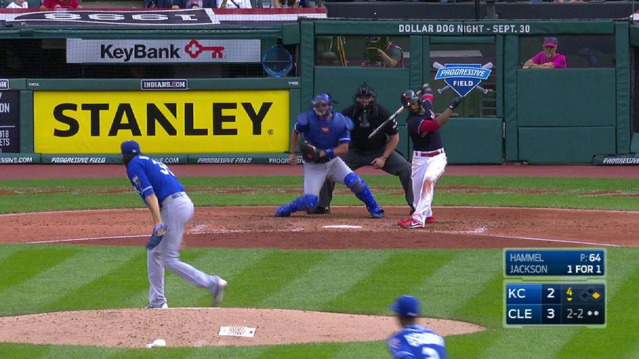 Hammel laments pitch to Lindor in pivotal 6th