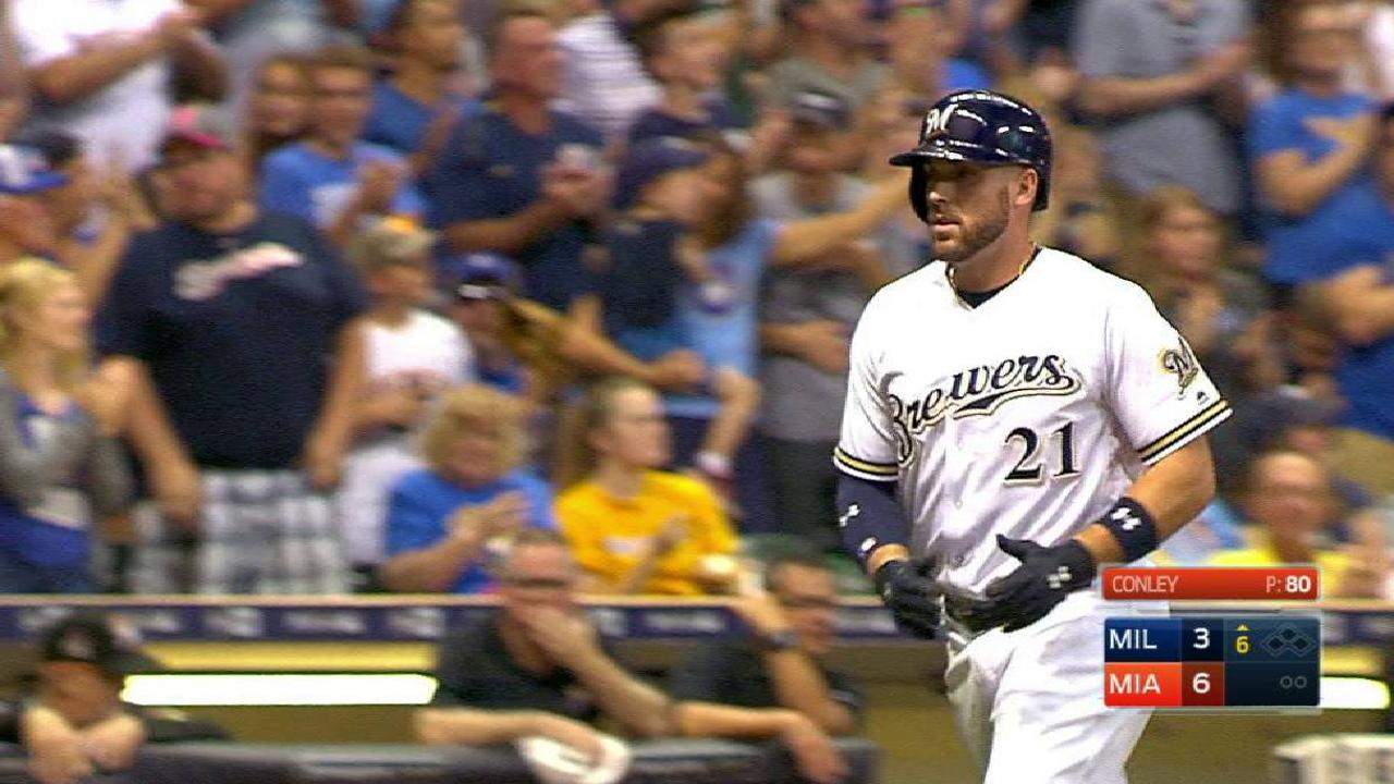 Shaw-Thames duo making Brewers history