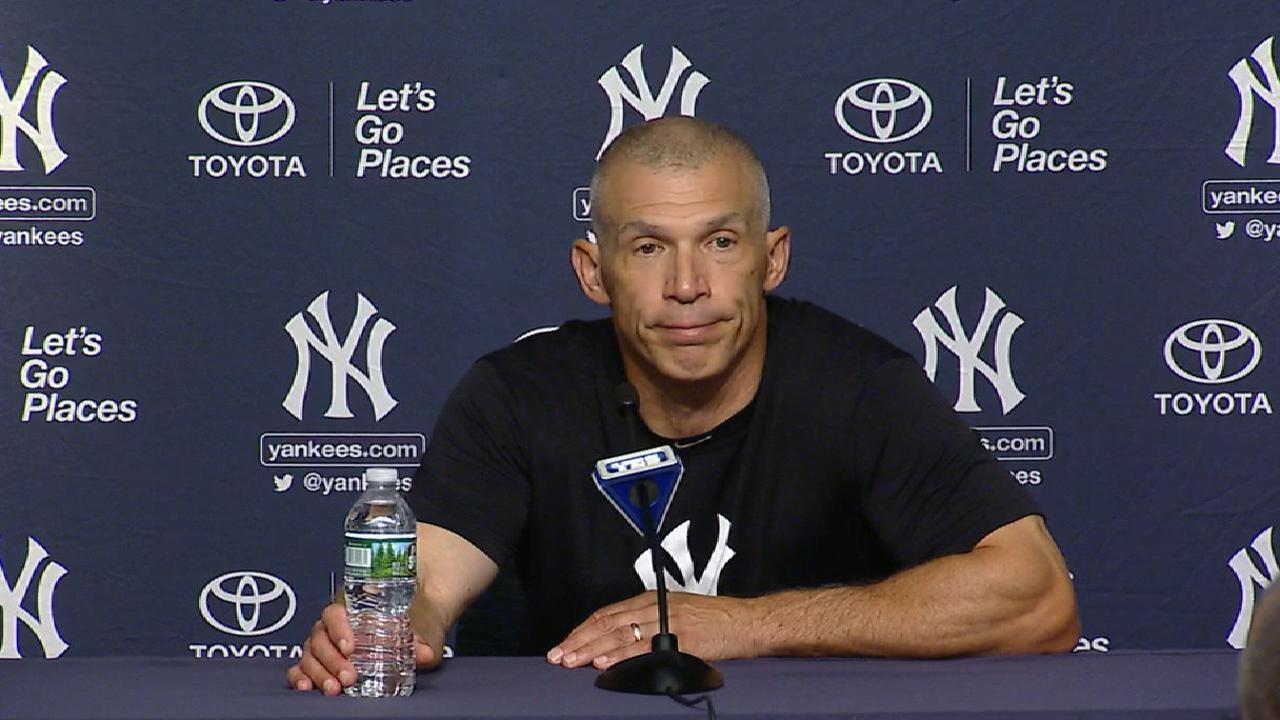 Girardi on Montgomery's outing