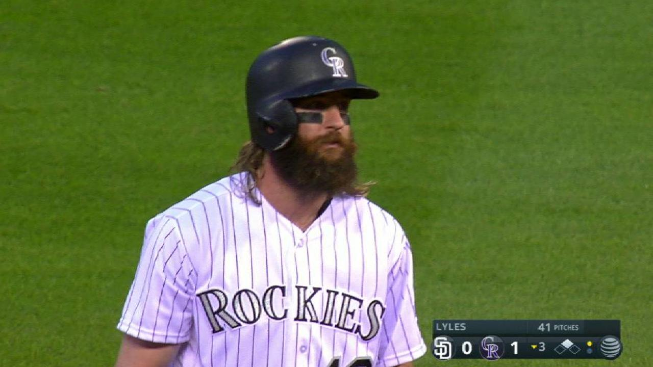 Blackmon's ground-rule double
