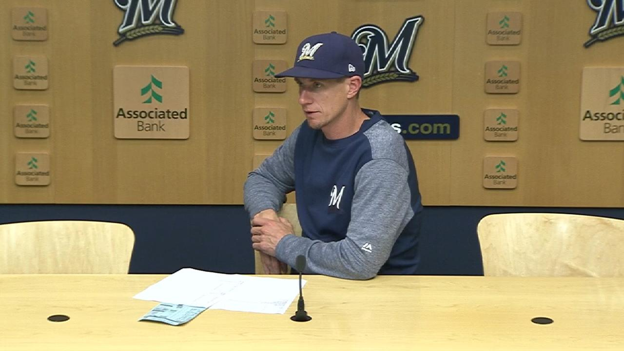Counsell on rough first inning