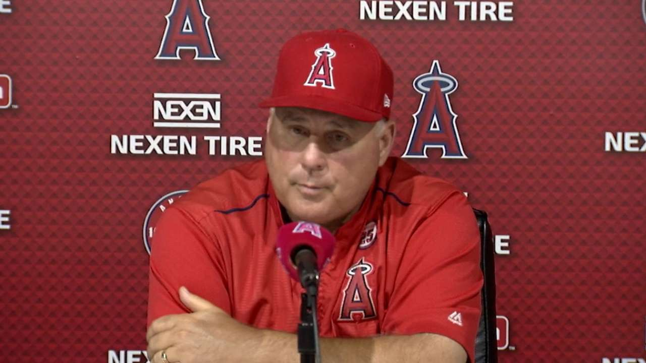 Scioscia on Upton, Bridwell