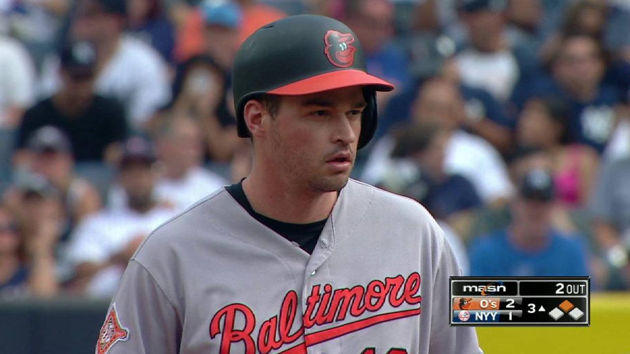 Beckham's homer lifts O's over Yanks in finale
