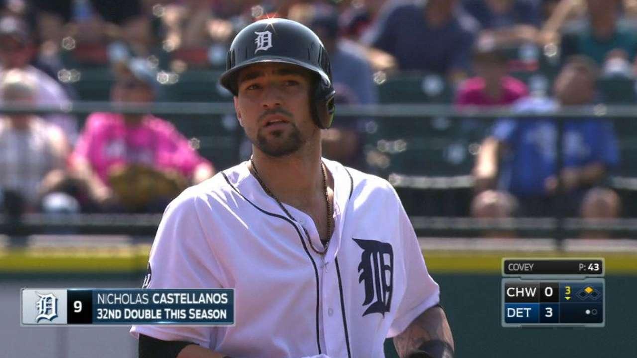 Castellanos' two-run double