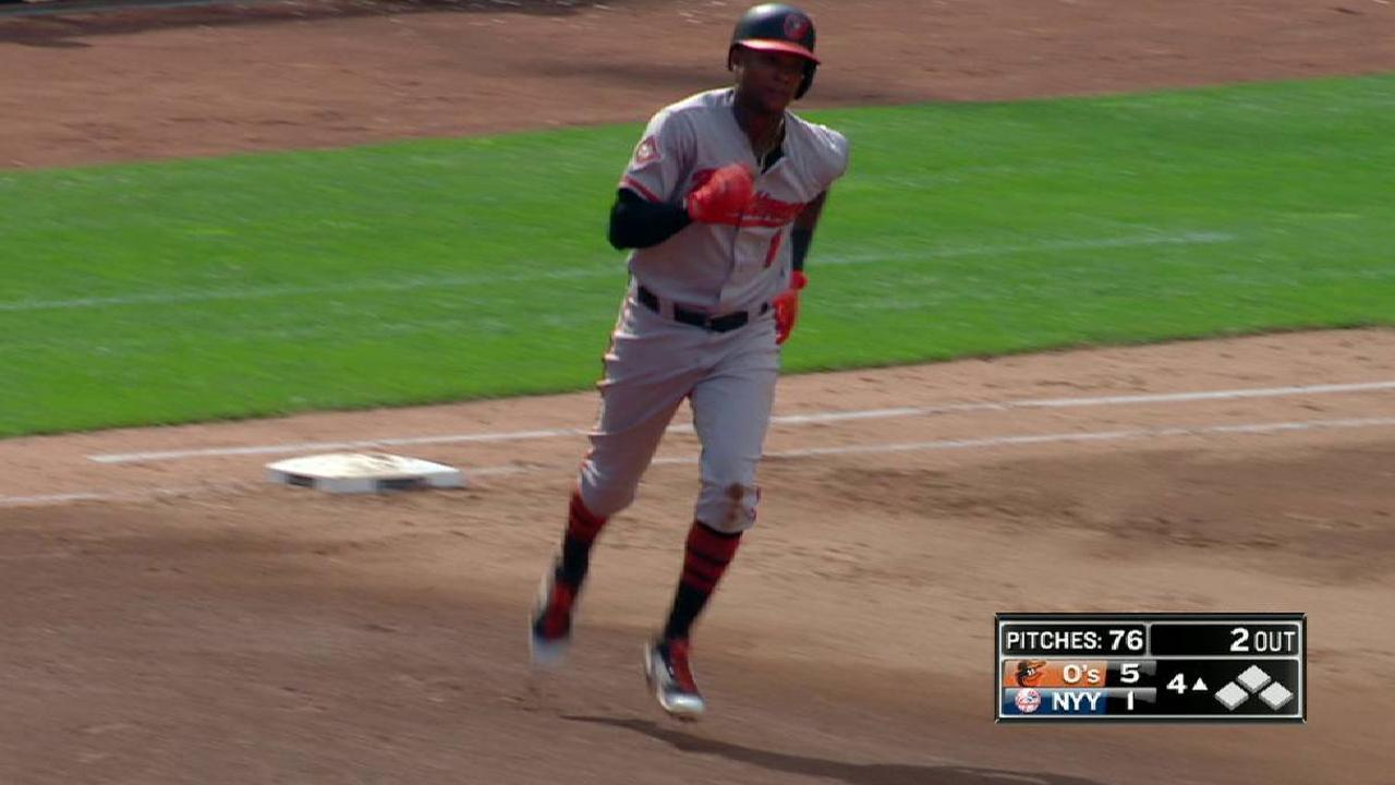 Orioles evitan barrida con gran labor de Ubaldo Jiménez ante Yankees