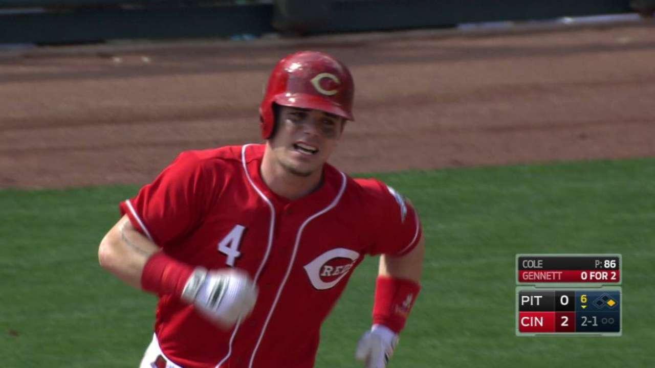 Gennett's two-run homer in 6th