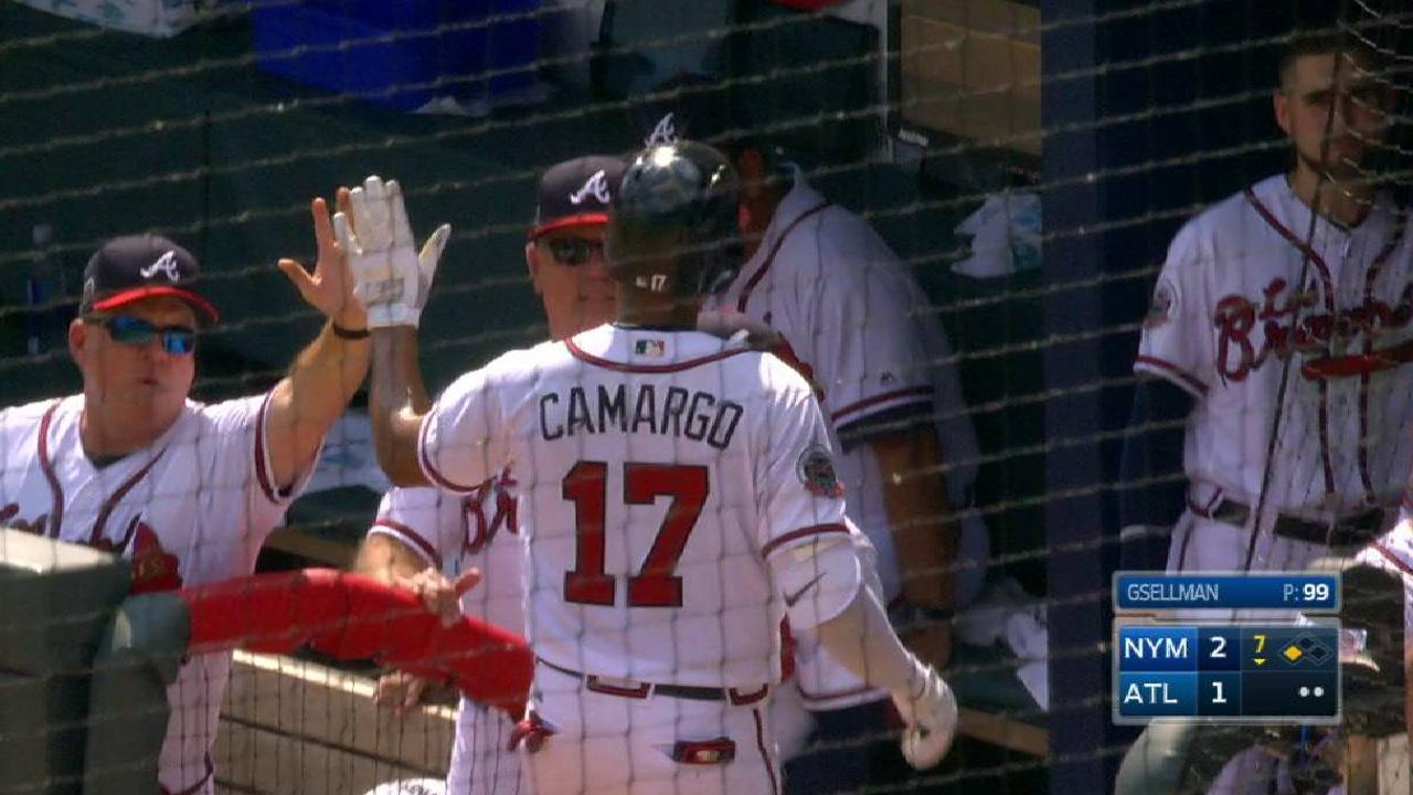 Peterson's RBI groundout