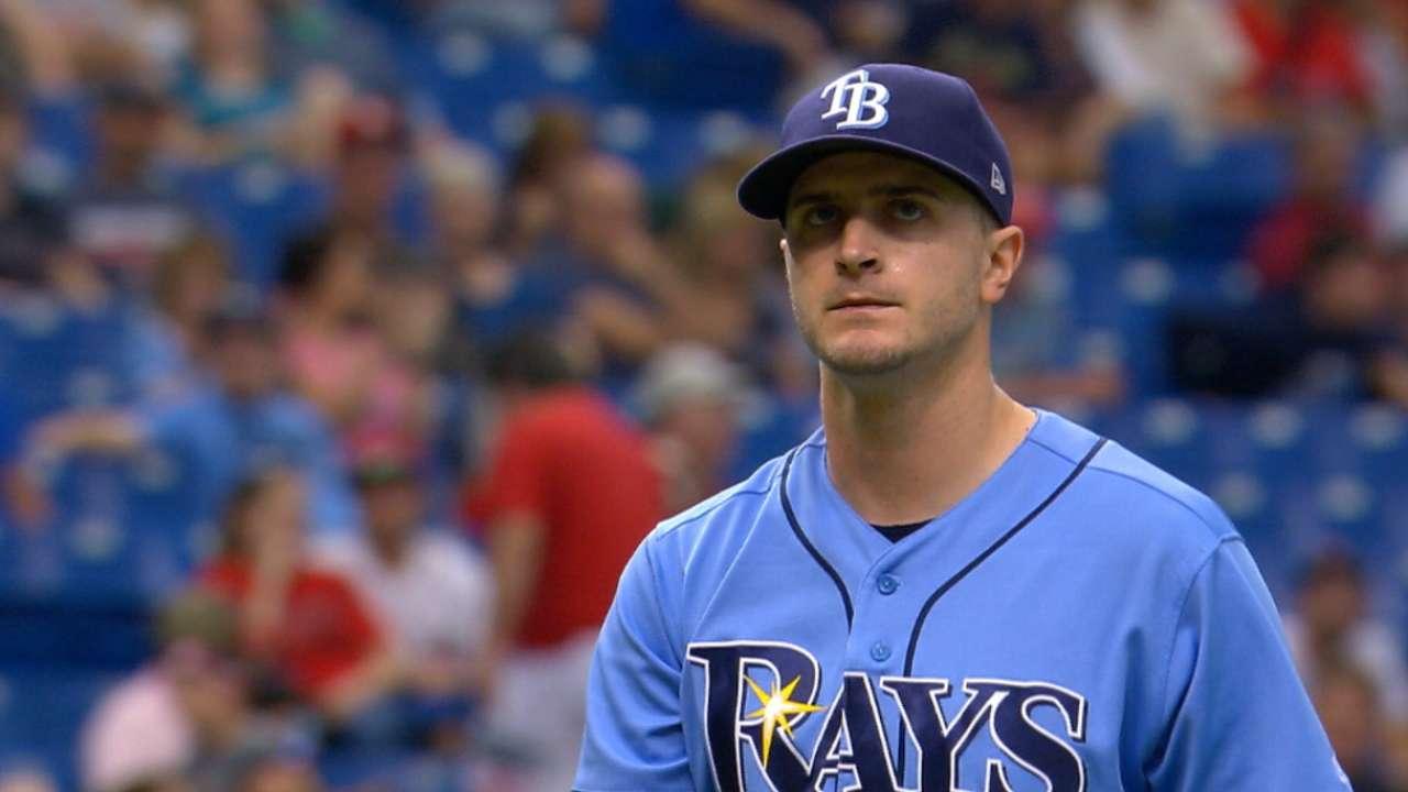 Jake Odorizzi sólo permite un hit en triunfo de Rays ante Boston