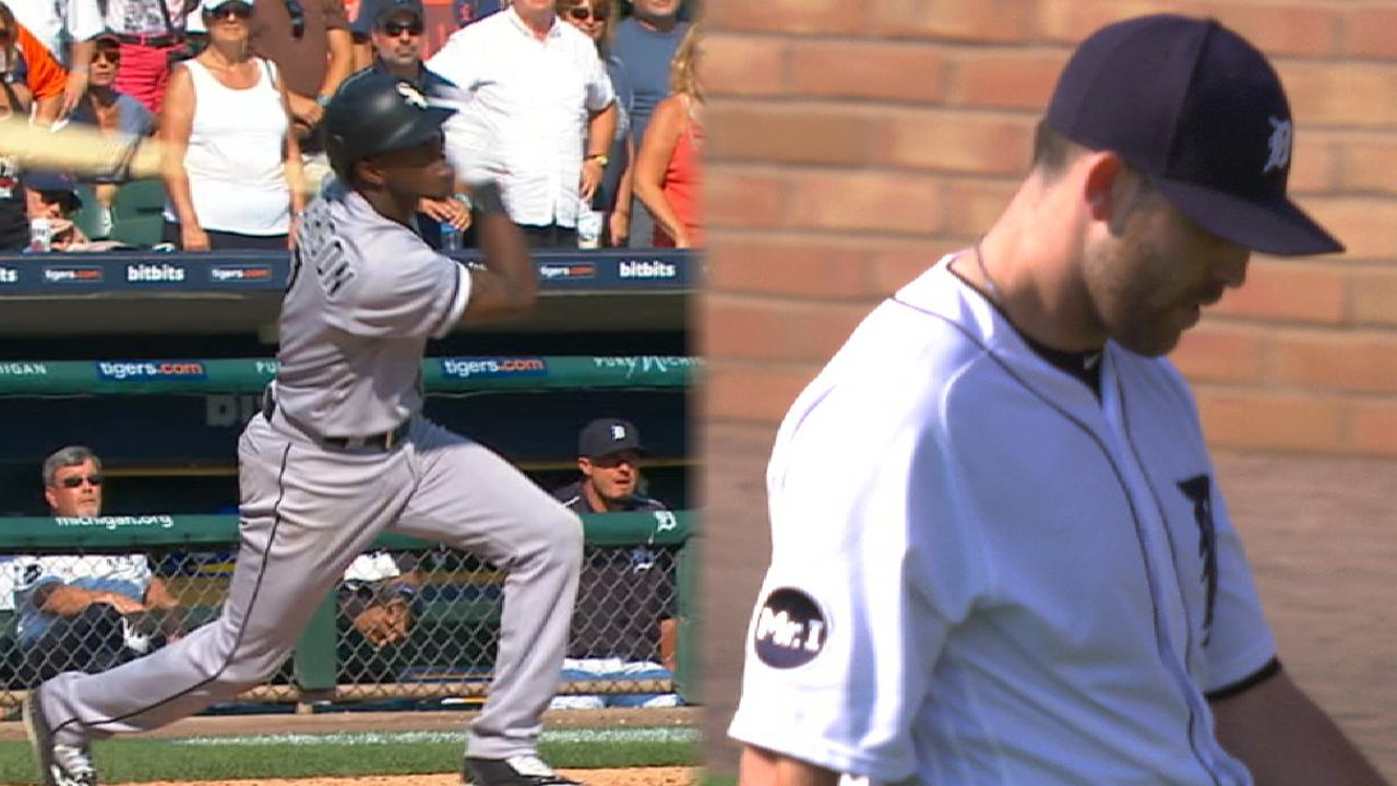 Tigers reflect on OF positioning in near no-no