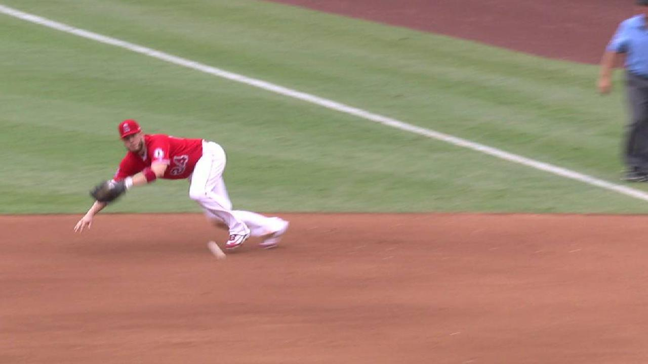 Cron's diving play