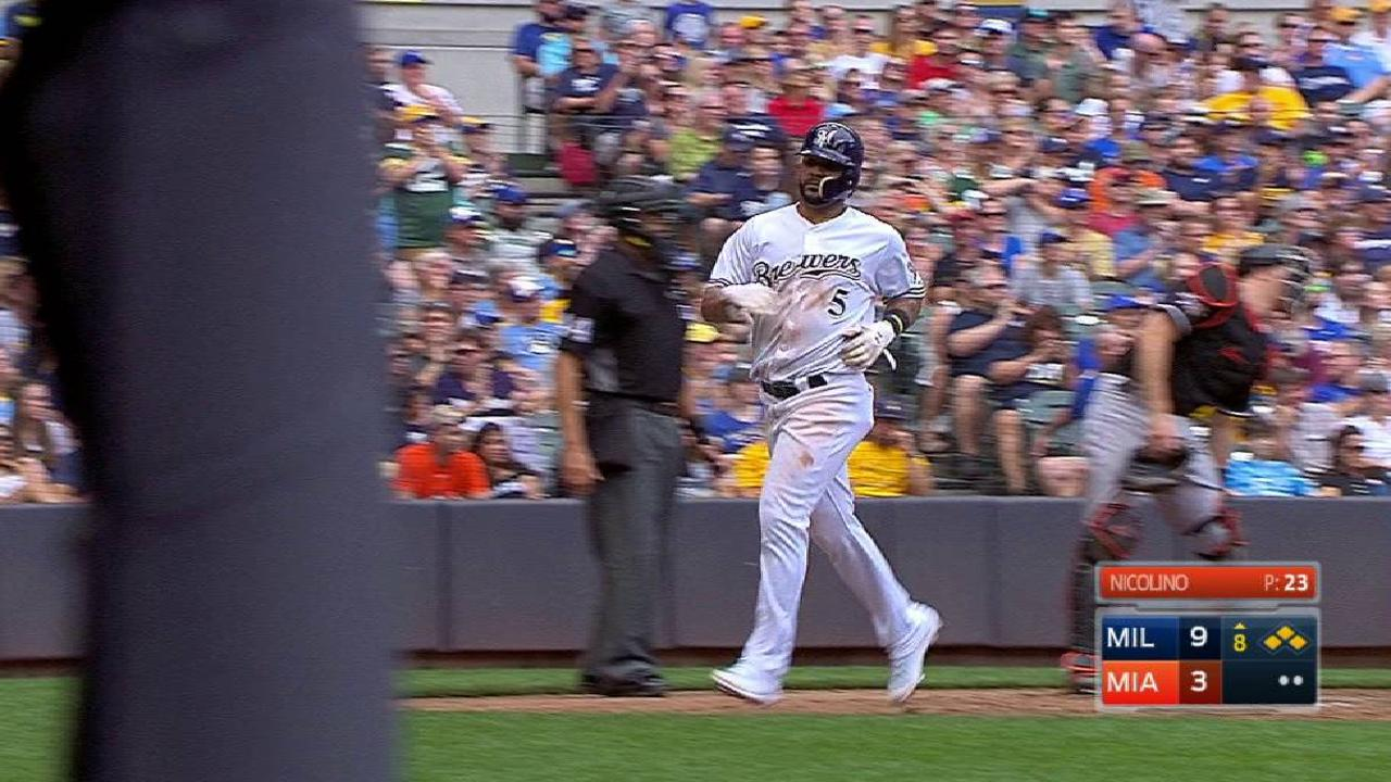 Shaw's second RBI single