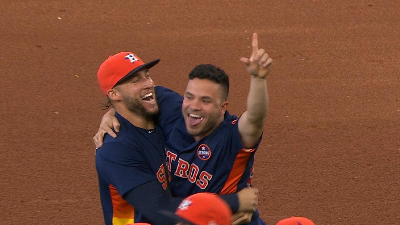 Astros se proclaman campeones del Oeste de la Liga Americana