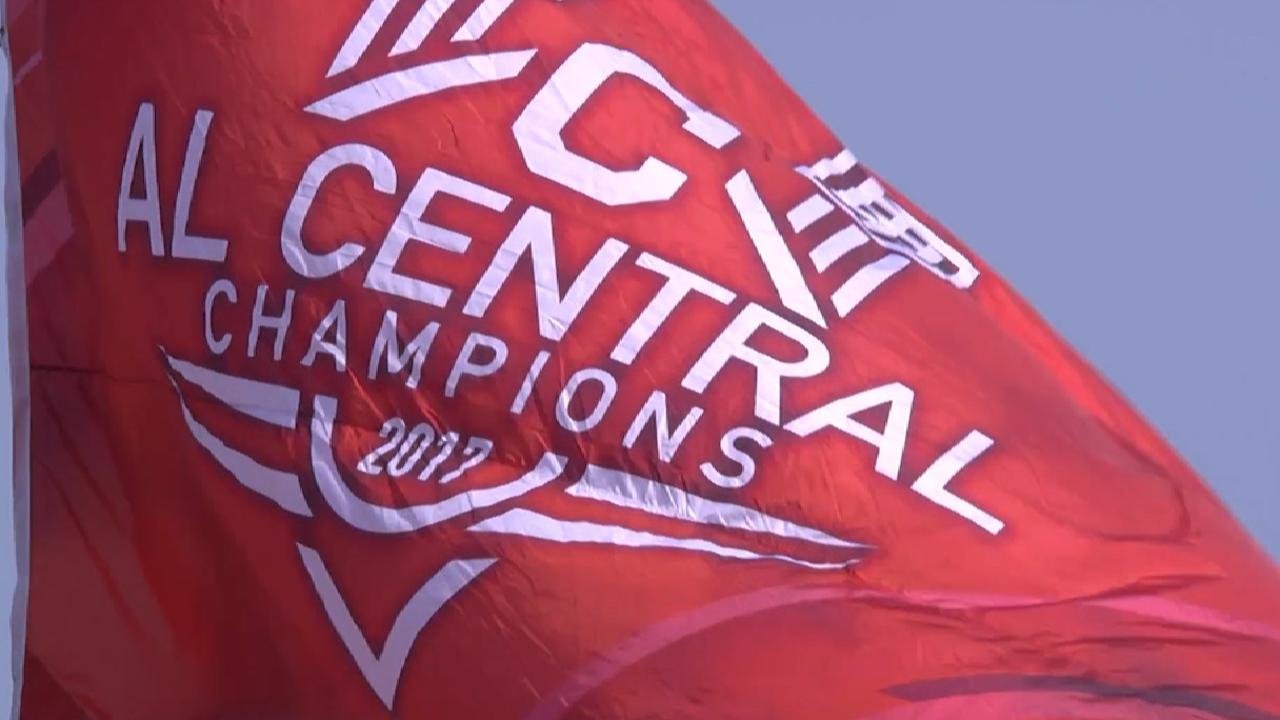 Indians clinch AL Central