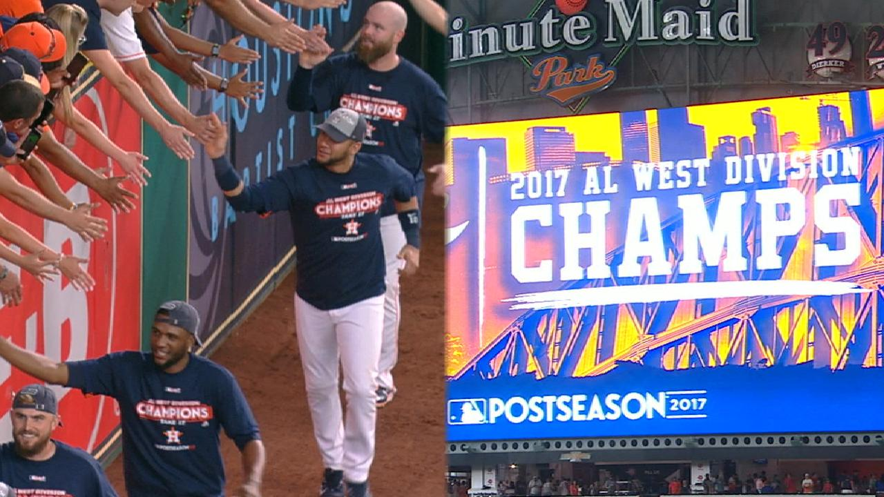 Must C: Astros clinch AL West