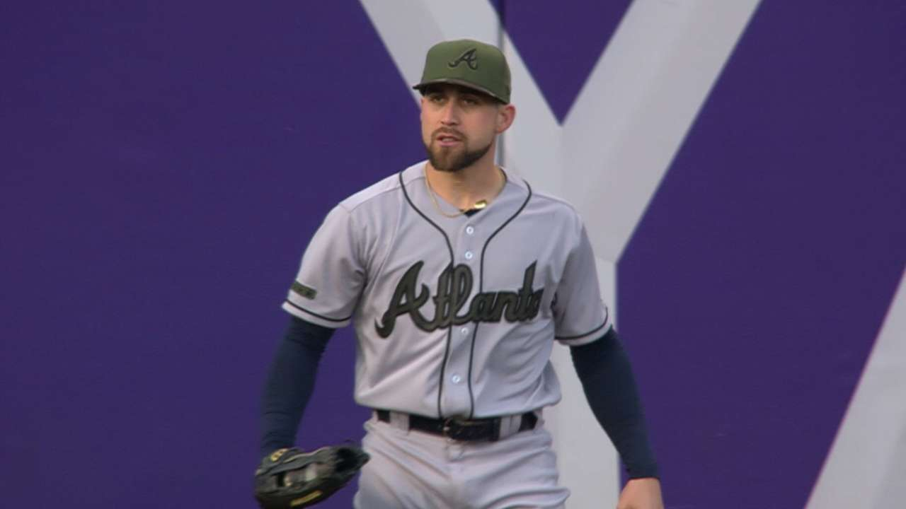 Inciarte up for Esurance Best Defensive Player