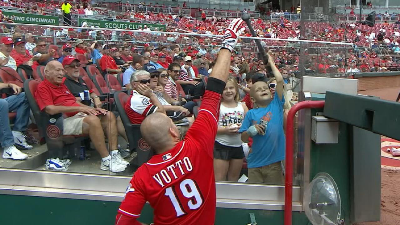 Player-Fan Interaction: Votto
