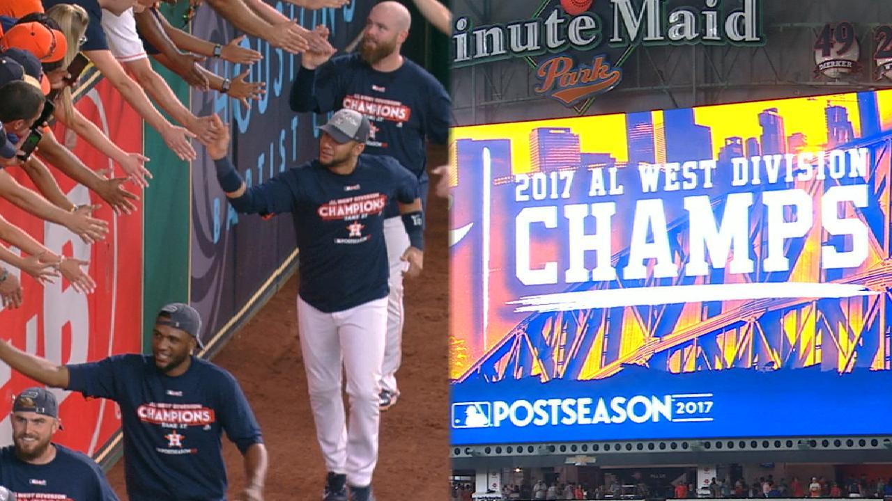 Must C: Astros clinch AL West