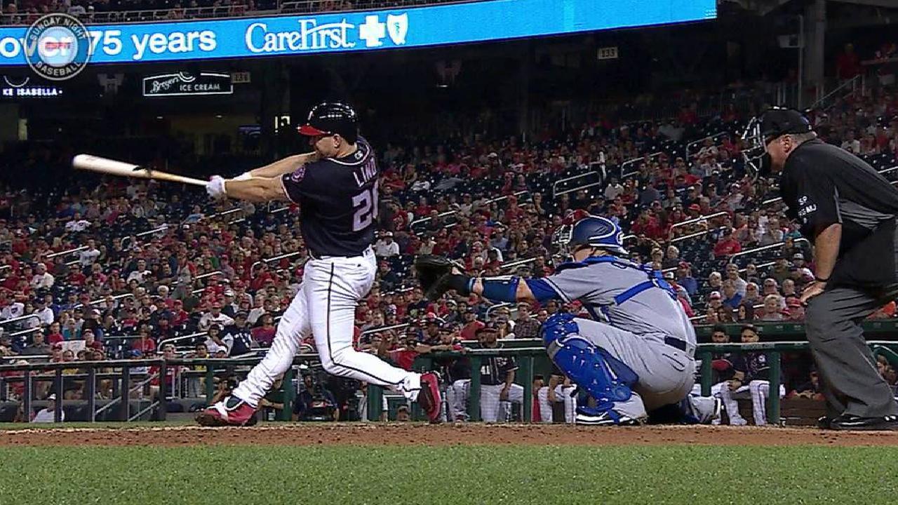 Lind's two-run home run