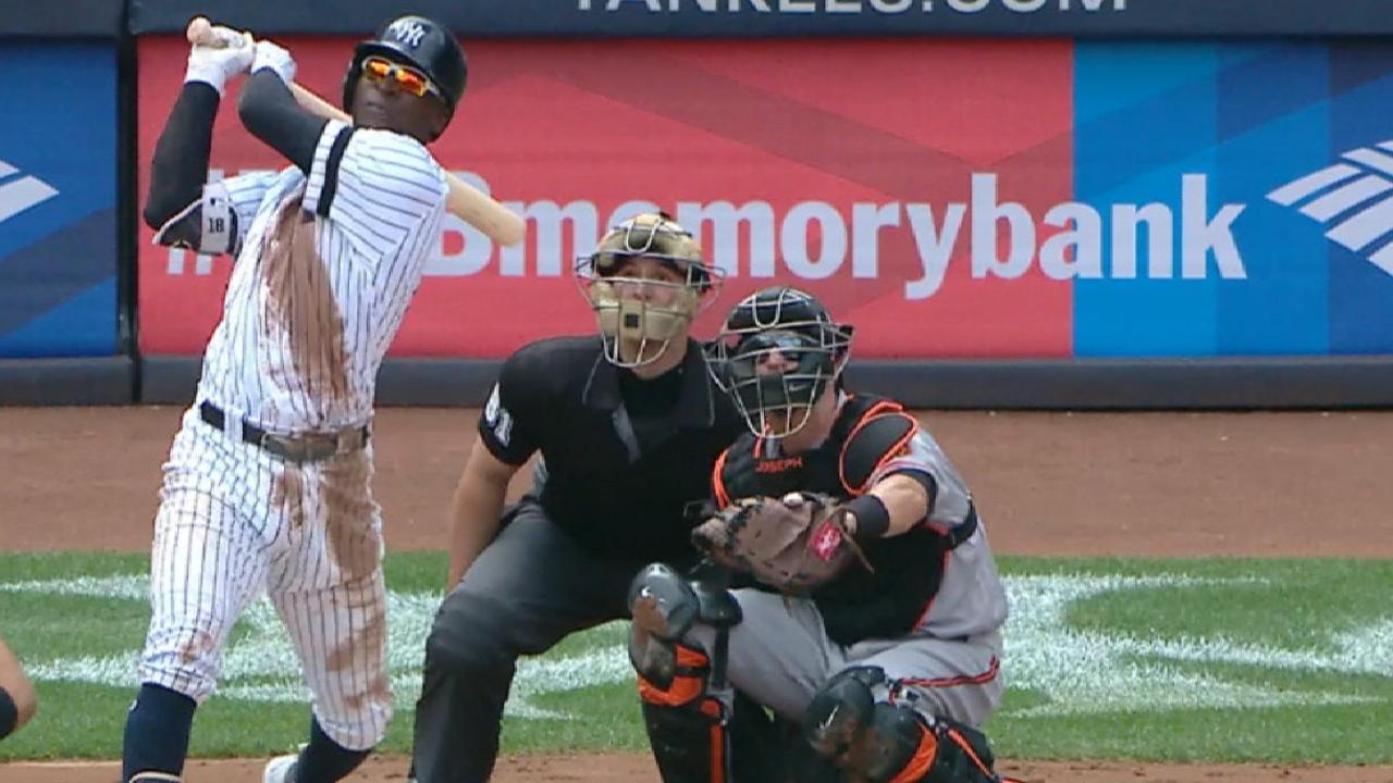 Didi Gregorius iguala récord de Derek Jeter en Yankees con su 24to HR