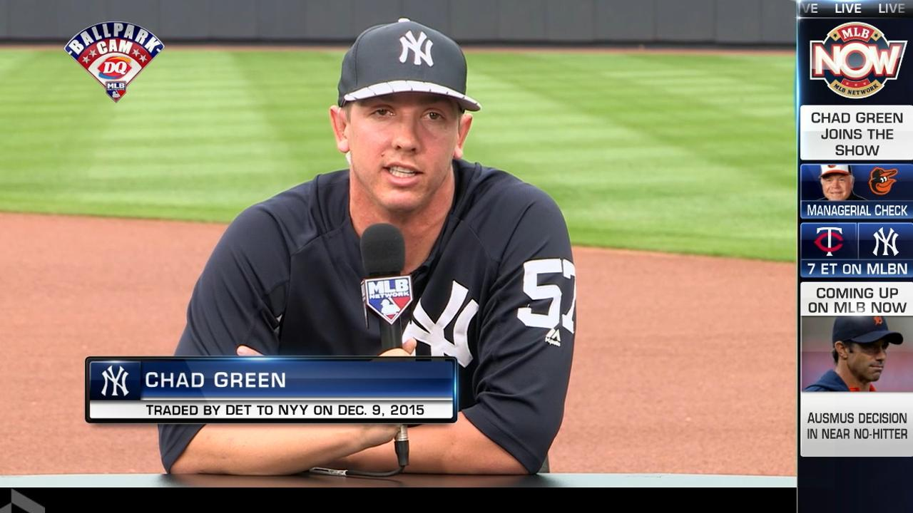 Chad Green joins MLB Now