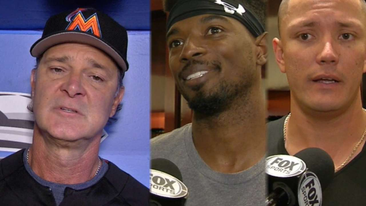 Marlins on returning after Irma