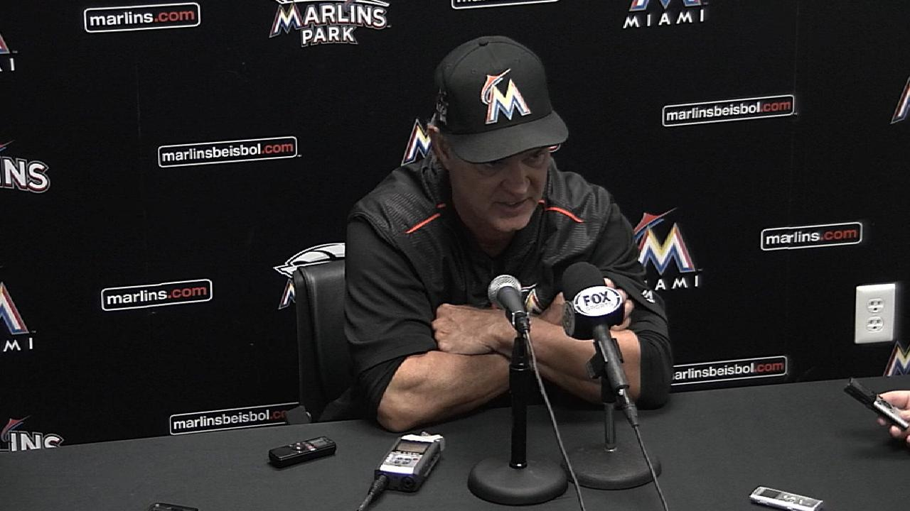 Mattingly on 13-1 win