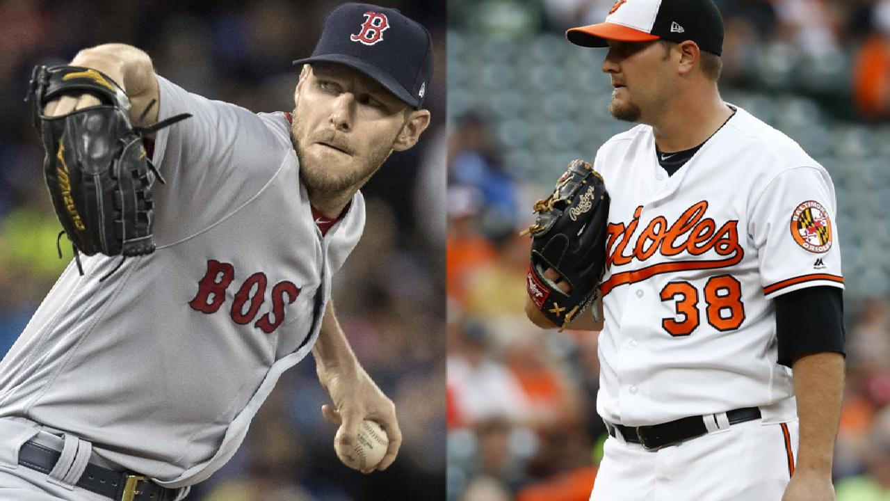 Sale, Sox go for sweep vs. Orioles on MLB.TV