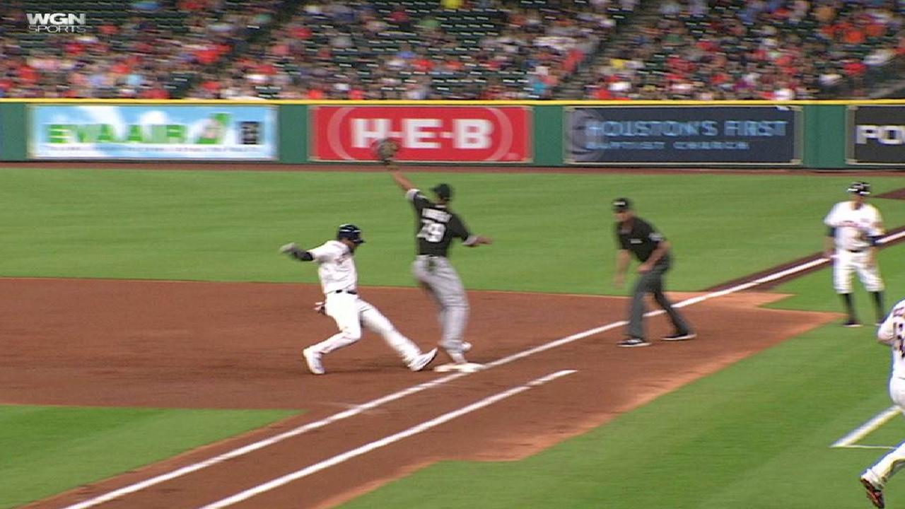 Anderson's heads-up double play