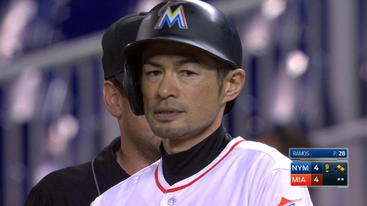In big moment, Ichiro stays the same