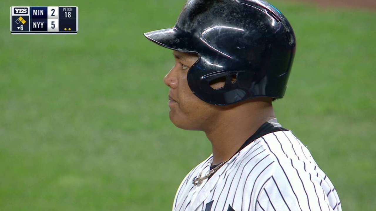 Castro getting back in groove at plate