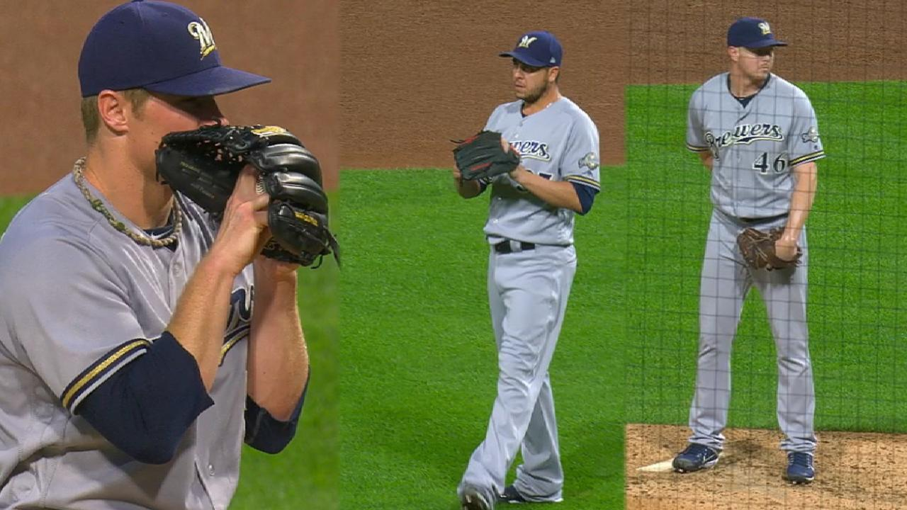 Brewers shut out the Pirates