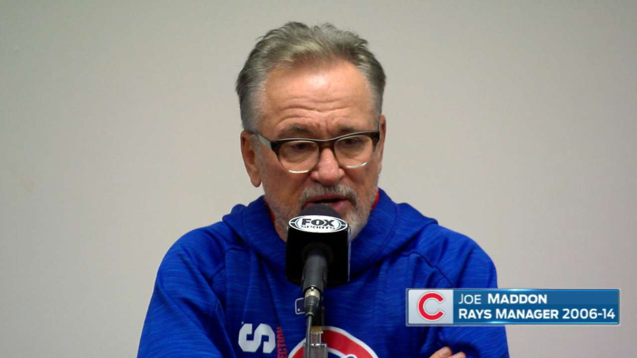 Maddon on his time with Rays