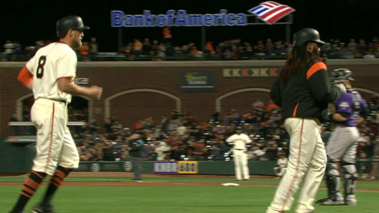 Pence's two-run home run