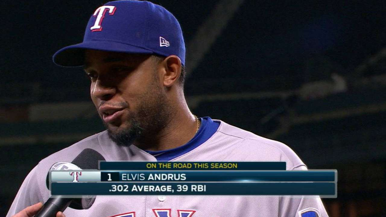 Andrus on the 3-1 win