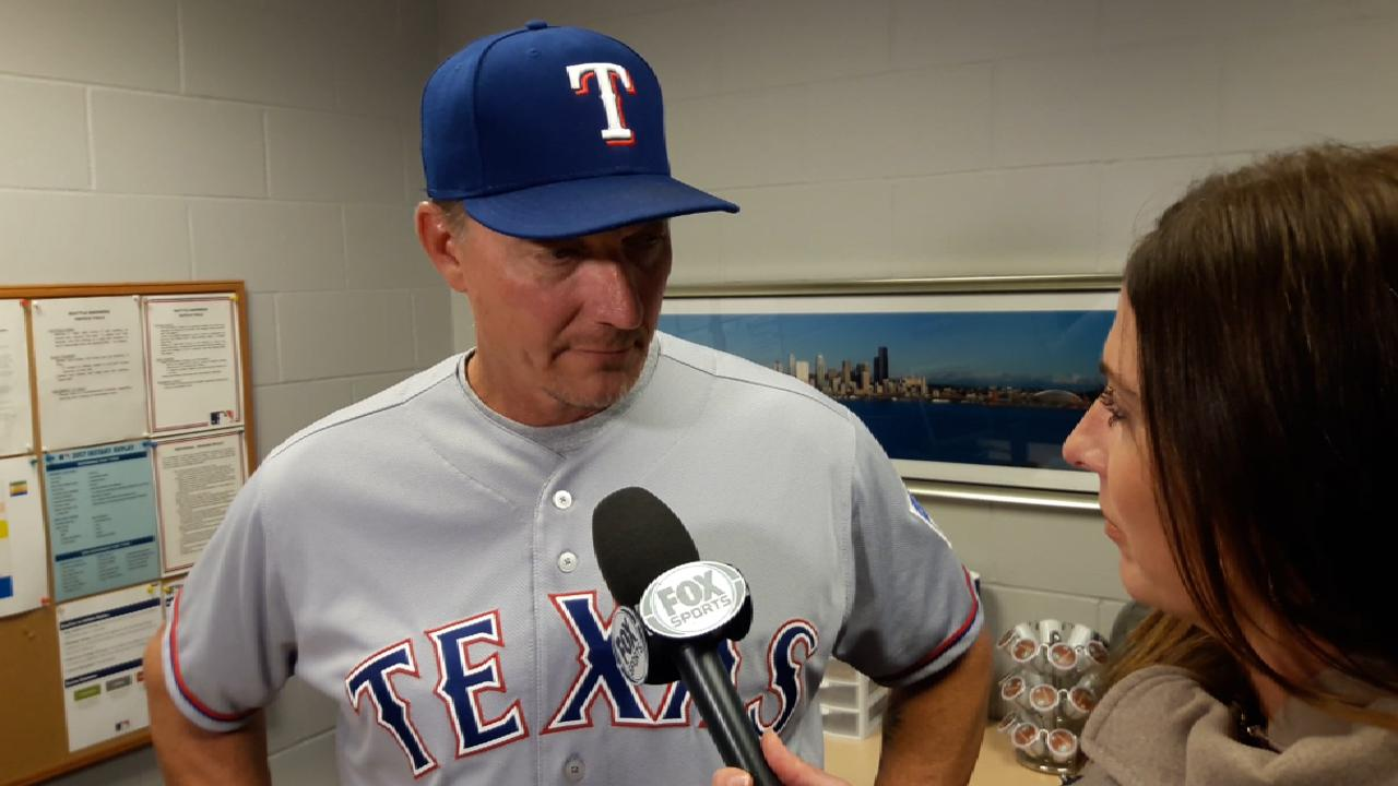 Banister on pitching, the win