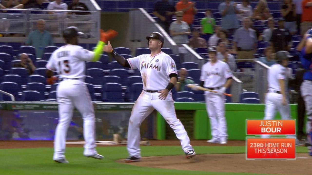 Big flies back Urena as Marlins sweep Mets