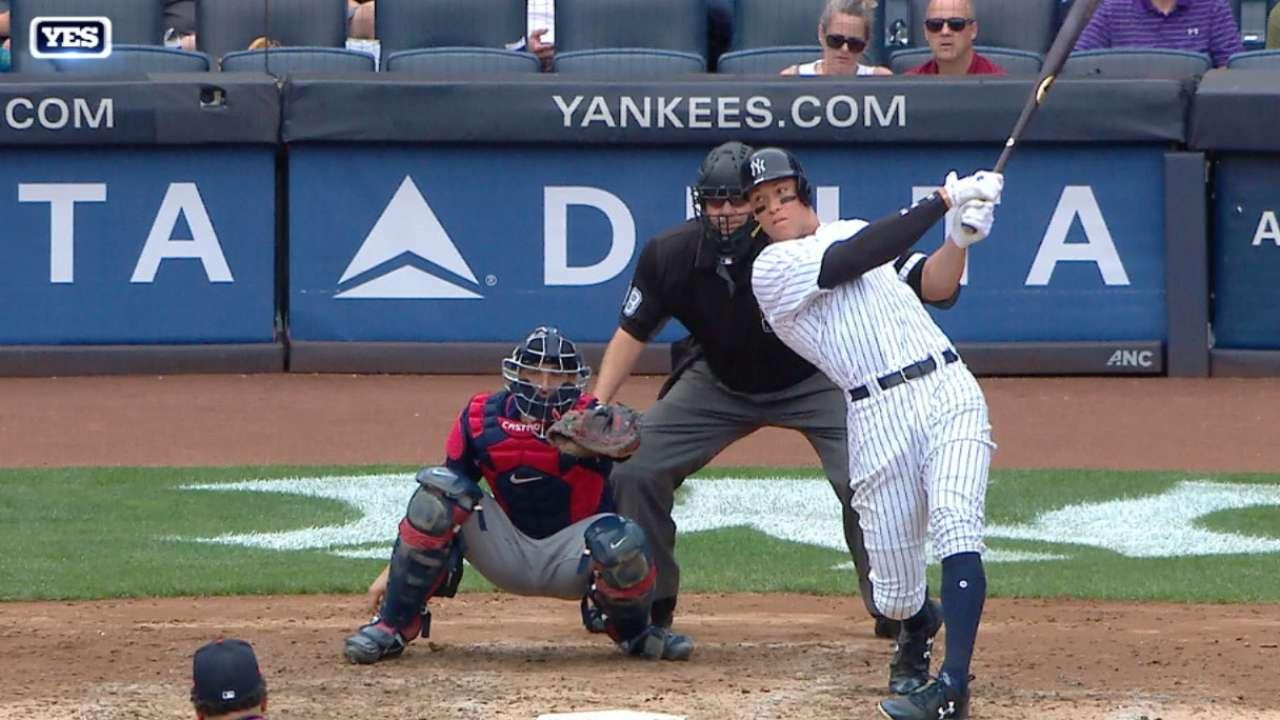 Judge's 45th home run
